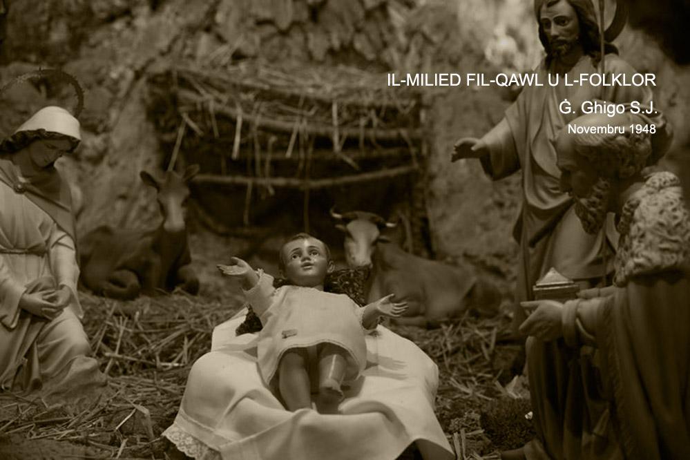 Il-Milied fil-Qawl u l-Folklor