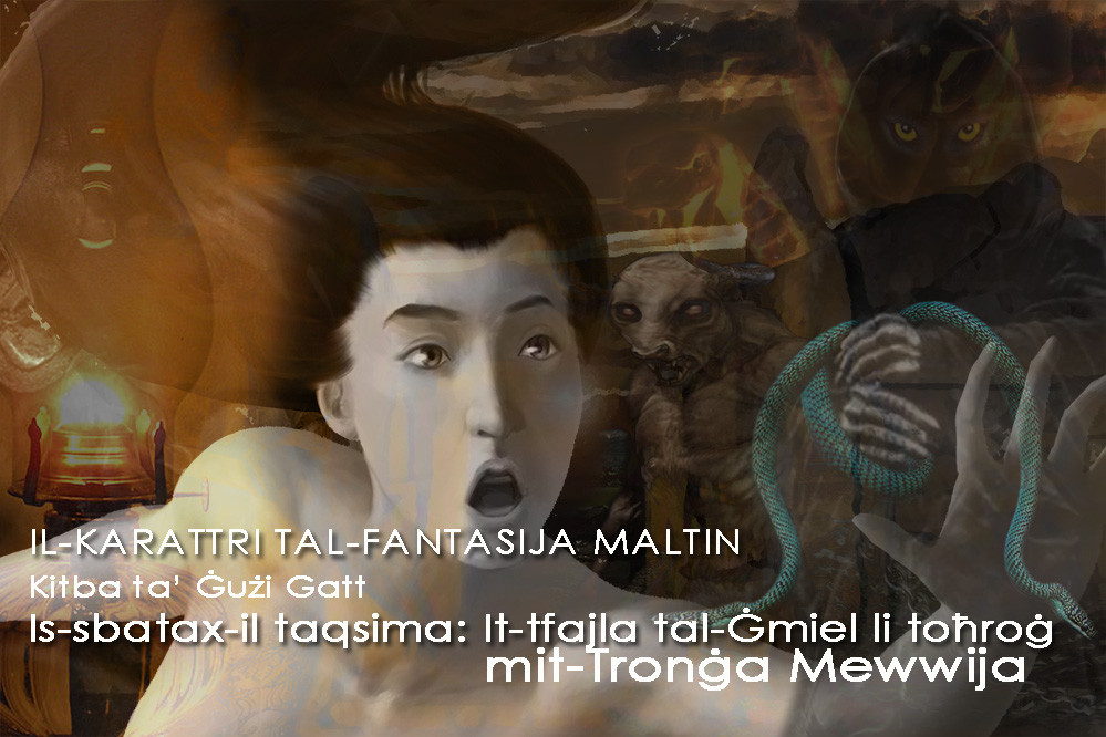 It-Tfajla tal-Ġmiel li toħroġ mit-Tronġa Mewwija