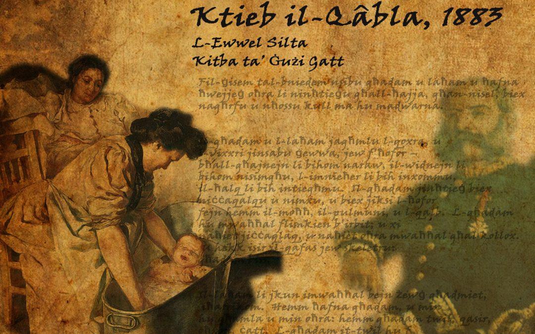 KTIEB IL-QÂBLA – 1883
